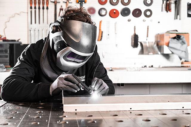 booglassen rvs, aluminium, staal